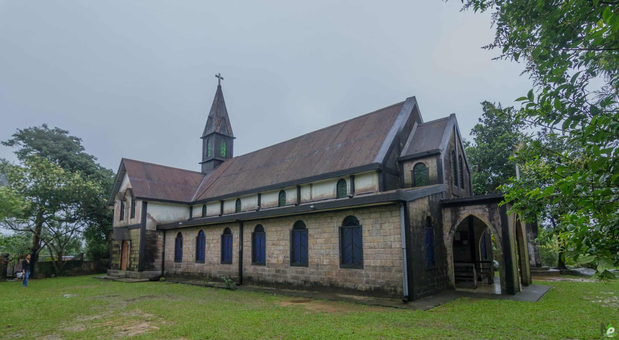 Oldest Church Mawlynnong