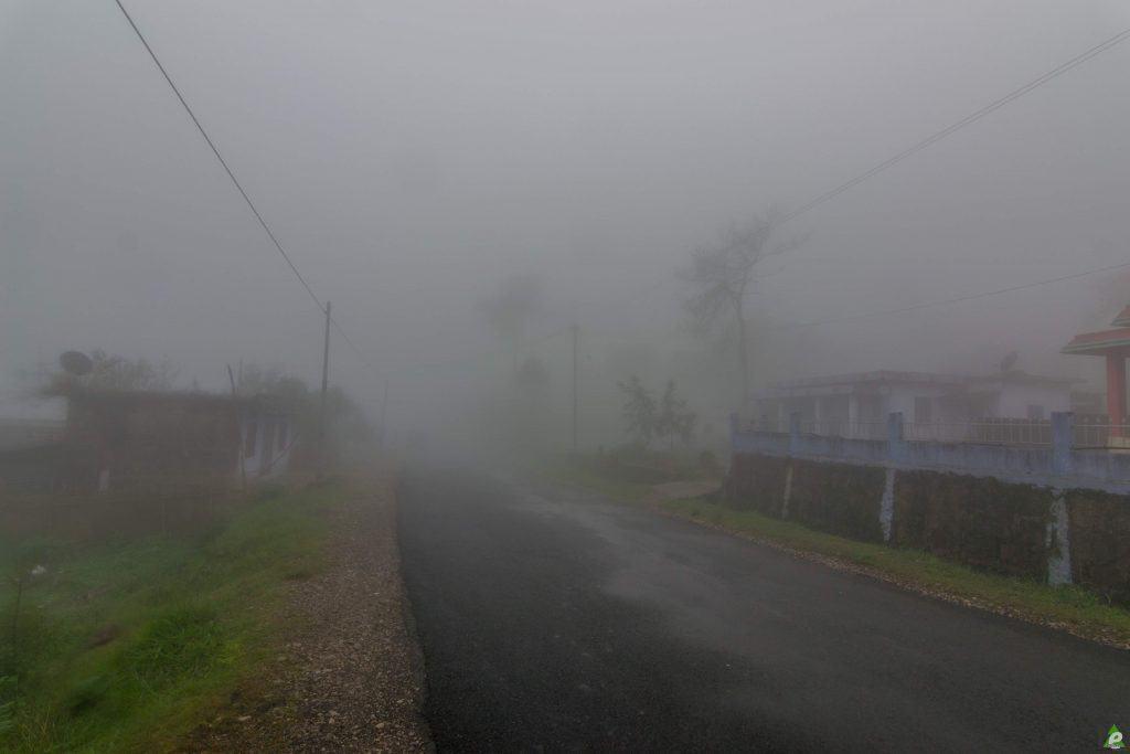 fog cherrapunjee weather
