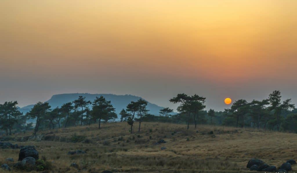 mawsynram sunset