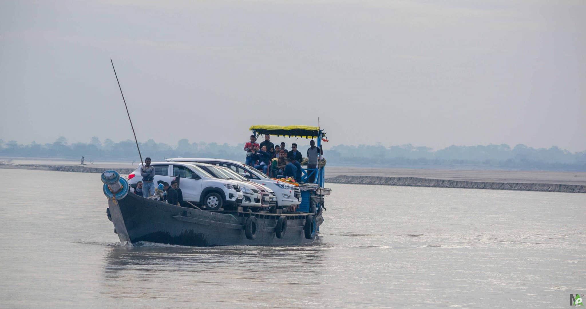 tezpur to majuli ferry