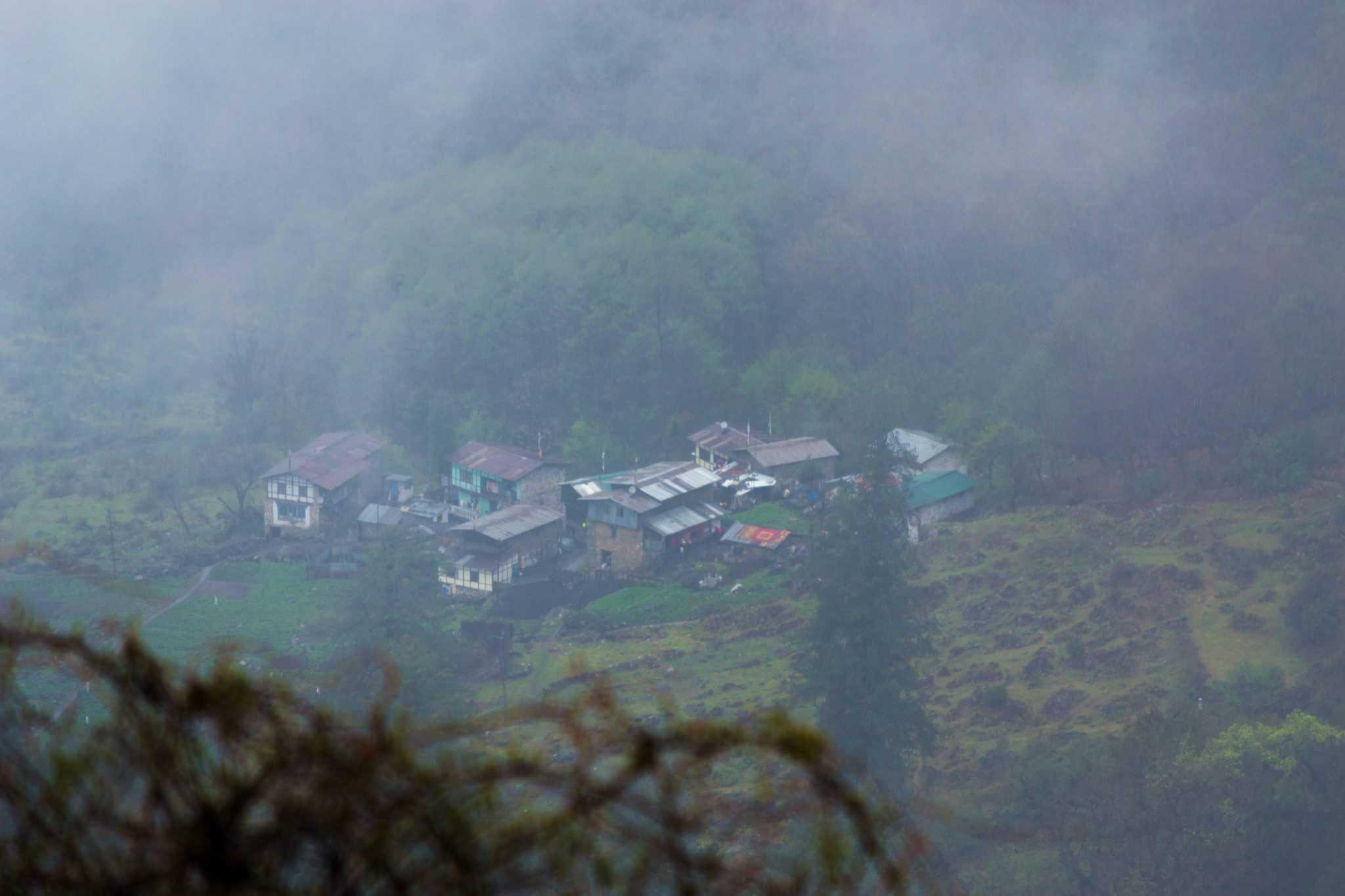 Tawang to Bomdila road