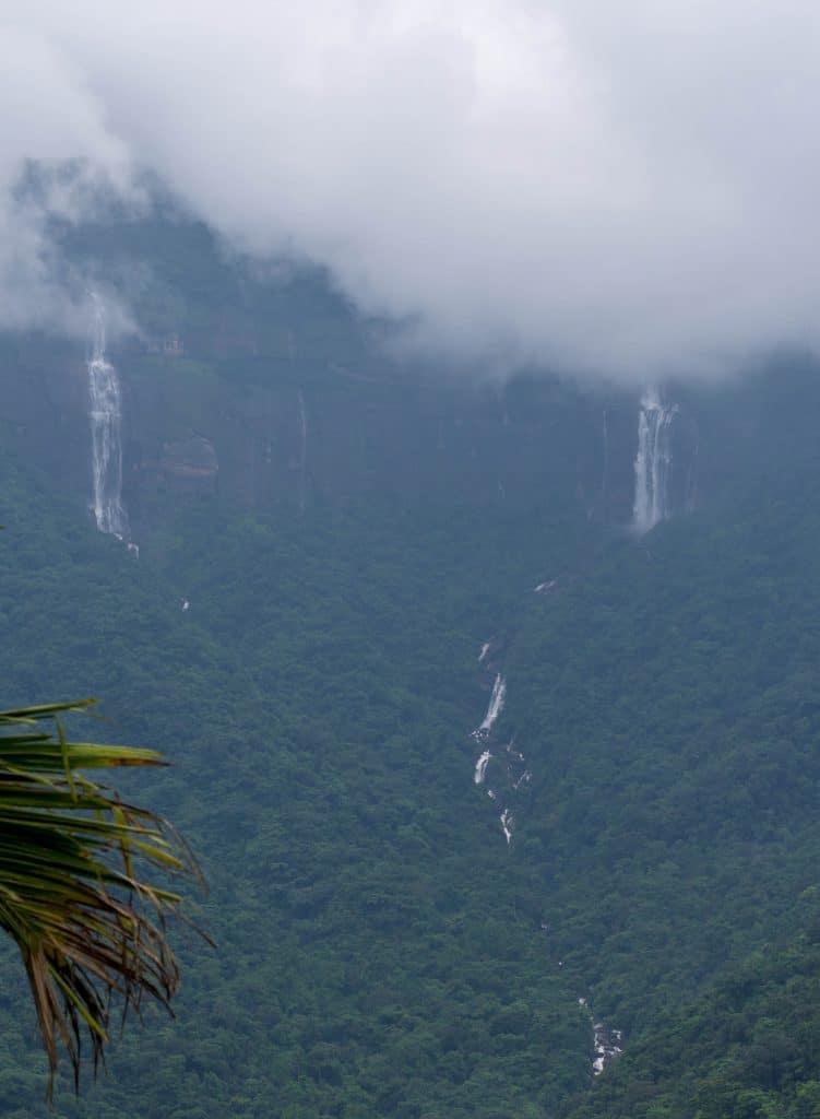 Waterfall at Nongriat, Cherrapunjee