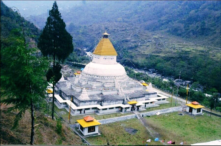 Gorsam Stupa Zemithang