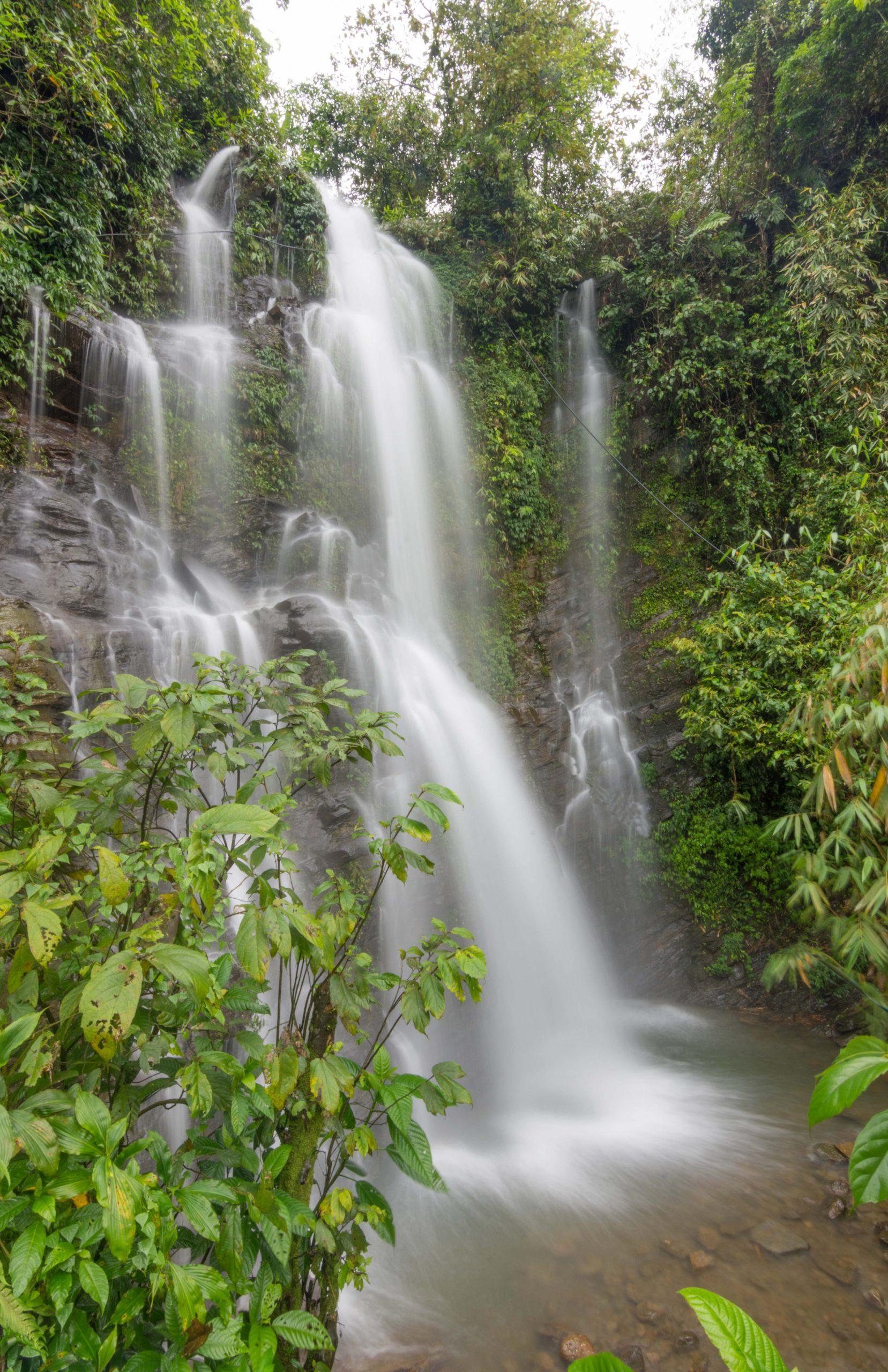 Meghalaya waterfall Clonned