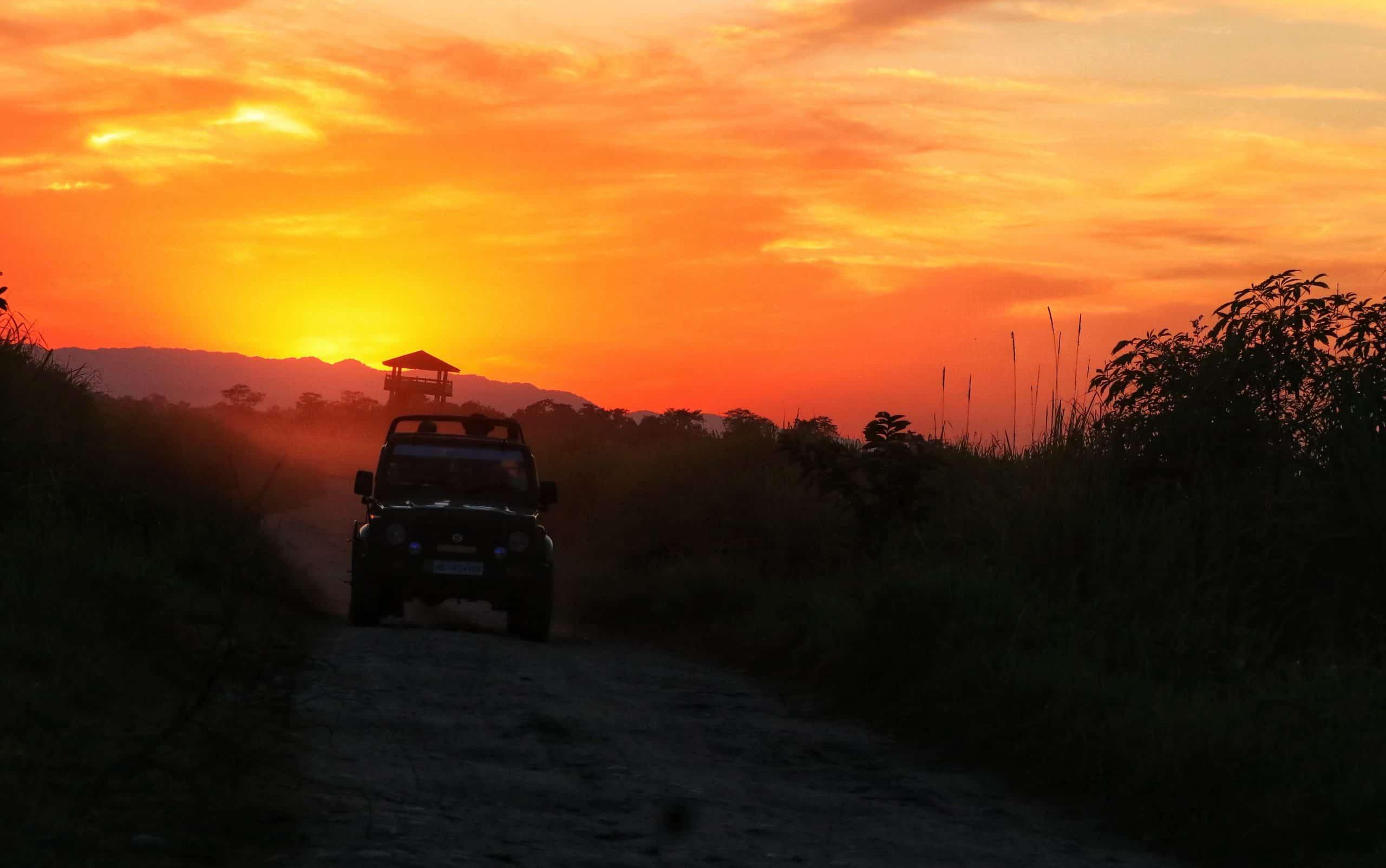 kaziranga jeep safari