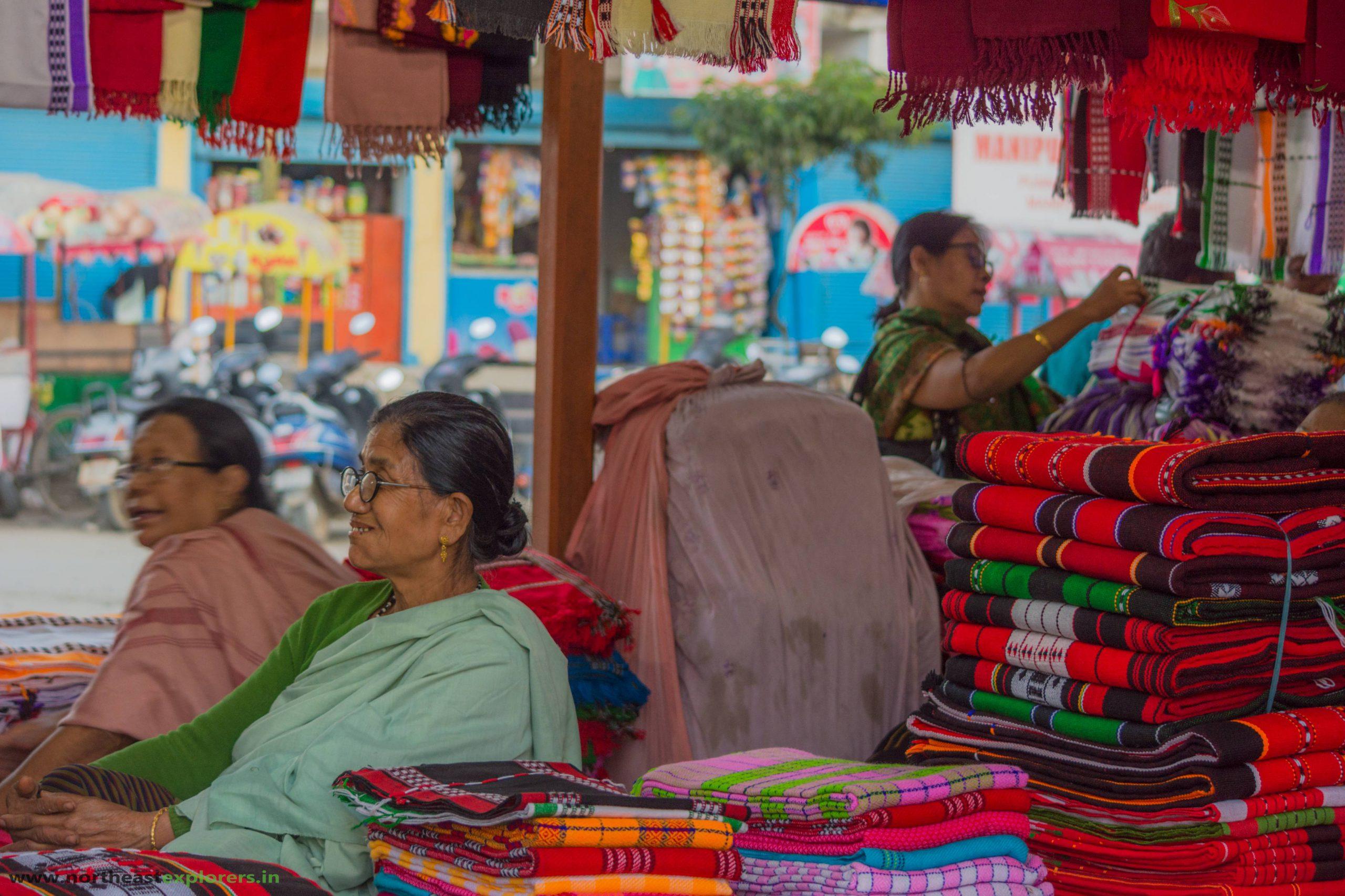 manipuri textile ima keithel
